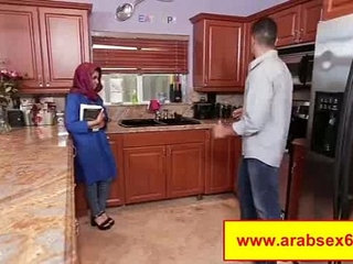 Sex toy is a good thing for arabian mother, before having a rough arab sex