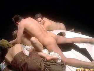 Alyssa Milano Embrace of the Vampire nude on bed