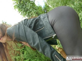 Allinternal Hot euro ass gets pumped full of cum
