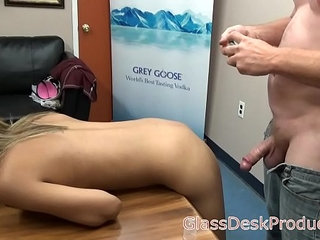 Mandy takes dick in the ass for the first time