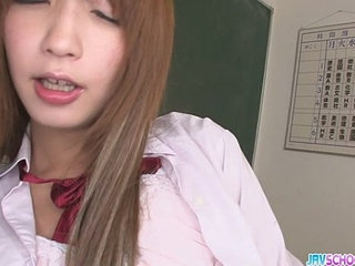 Horny Teen Sana Anju Gets Naughty In Class