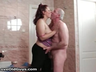 Horny fat whore goes crazy sucking